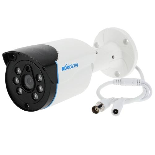 KKmoon 1080P AHD Einschuss Surveillance wasserdichte Kamera 2.0MP 3.6mm 1/3 '' CMOS-6-Reihe IR-LEDs Nachtsicht IR-CUT Indoor Outdoor CCTV-NTSC-System