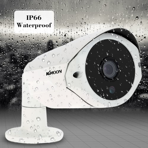 KKmoon 1080P AHD Camera 2.0MP 3.6mm 1/3? CMOS 36 IR LEDs Night Vision IR-CUT Waterproof Indoor Outdoor for CCTV Security NTSC System