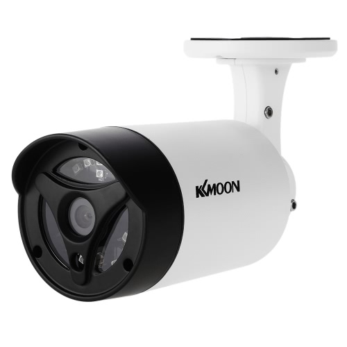 KKmoon 1080P 2.0MP AHD Bullet CCTV Camera 3.6mm 1/3 '' CMOS 18pcs Array IR LEDs Visão noturna IR-CUT Rainproof Indoor Outdoor Home Security NTSC System