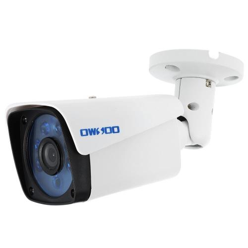 OWSOO  1500TVL 720P AHD Bullet Waterproof Camera 1.0MP 3.6mm 1/4'' CMOS 6 Array IR LEDS Night Vision IR-CUT CCTV Security NTSC System