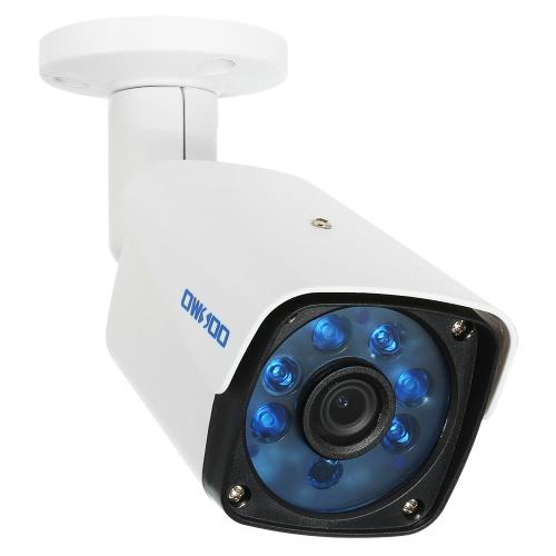 OWSOO 2000TVL 1080P AHD Bullet Waterproof Camera 2.0MP 3.6mm 1/3 '' para Sony CMOS Sensor 6 Array IR LEDS Visão noturna IR-CUT CCTV Security NTSC System