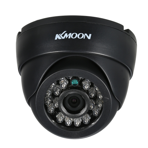 KKmoon 1080P AHD Dome CCTV Analog Camera 3.6mm Lente 1 / 2.8 '' CMOS 2.0MP IR-CUT 24pcs IR LEDS Visão noturna para o sistema Home Security PAL