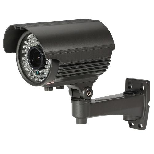 サポートIR-CUTナイトビジョンマニュアルズーム可変焦点レンズIR弾丸CCTVカメラ