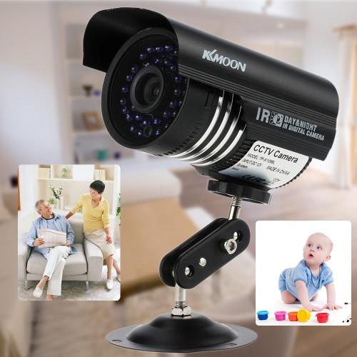 KKmoon 1200TVL Überwachung Sicherheit im freien analogen CCTV-Kamera IR-CUT Night View wasserdicht
