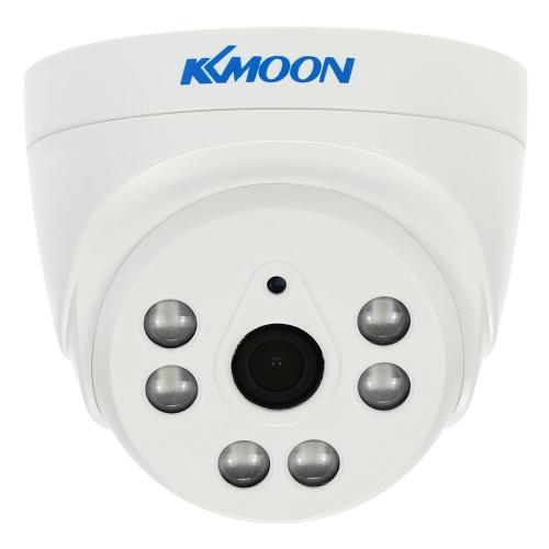 KKmoon 1080P 2.0MPドームAHD監視カメラのアナログCCTVセキュリティ屋内3.6ミリメートル6アレイIR LEDのナイトビジョン1/3