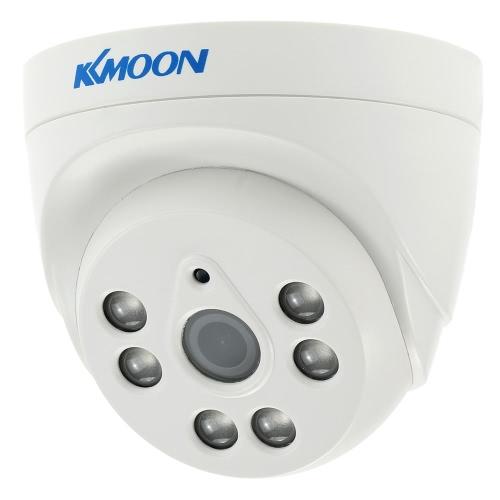"KKmoon  1080P 2.0MP Dome AHD Surveillance Camera Analog CCTV Security Indoor 3.6mm 6 Array IR LEDS Night Vision 1/3"" CMOS IR-CUT NTSC System"