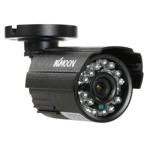 KKmoon 1200TVL telecamera a bullet 24 IR lampade impermeabili visione notturna