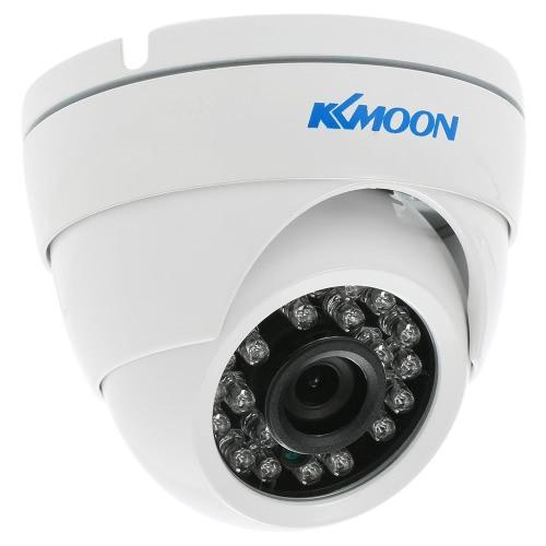 KKmoon 720P 1500TVL Dome AHD Überwachungskamera 1.0MP 3.6mm 1/4 '' CMOS 24 IR-Lampen Nachtsicht wasserdicht Indoor Outdoor CCTV-PAL-System IR-CUT