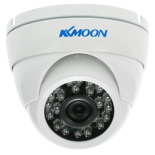 KKmoon  960P 1.3MP AHD Dome CCTV Camera 3.6mm 1/4'' CMOS 24 IR Lamps Night Vision IR-CUT Waterproof Indoor Outdoor For Security System PAL System