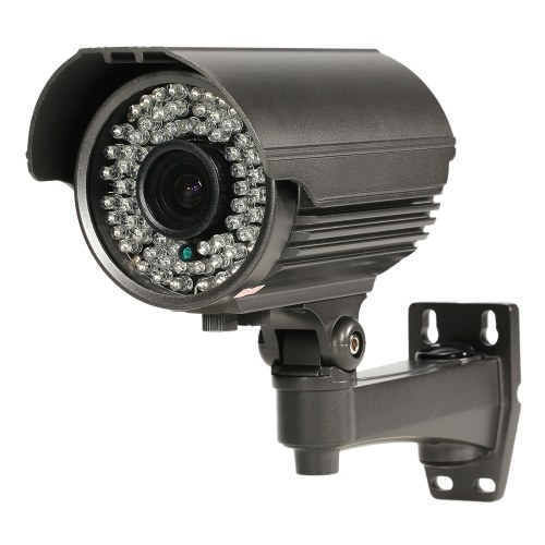 Soporte IR-CUT Visión nocturna Zoom manual Varifocal Lens IR Bullet Cámara CCTV