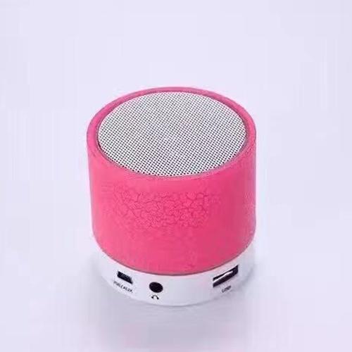 محمول ملون البسيطة سماعات Bt اللاسلكية الأيدي الحرة LED مكبر الصوت