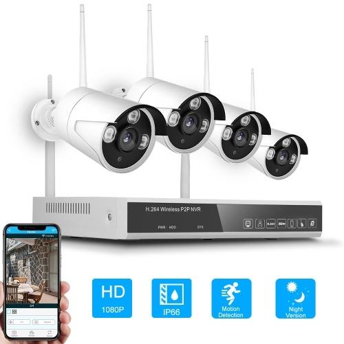 XF-1604M 4CH NVR+4 Cameras Wireless NVR Kit