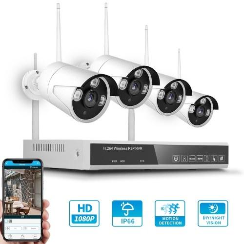 XF-1604M Kit NVR wireless 4CH + 4 telecamere