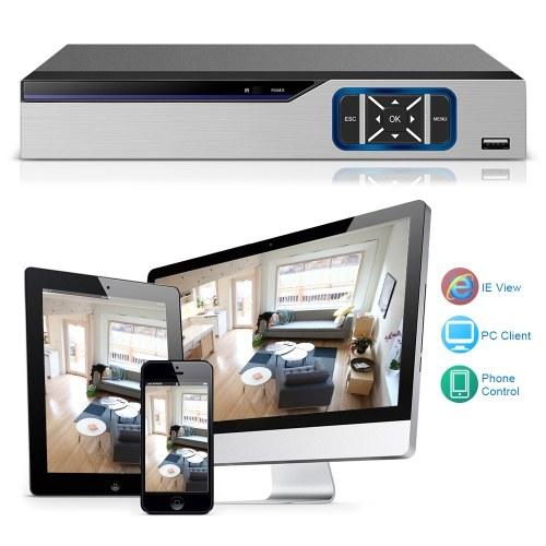 8CH 1080P Full High Definition Hybrid AHD/ONVIF IP/Analog/TVI/CVI/ DVR CCTV Digital Video Recorder