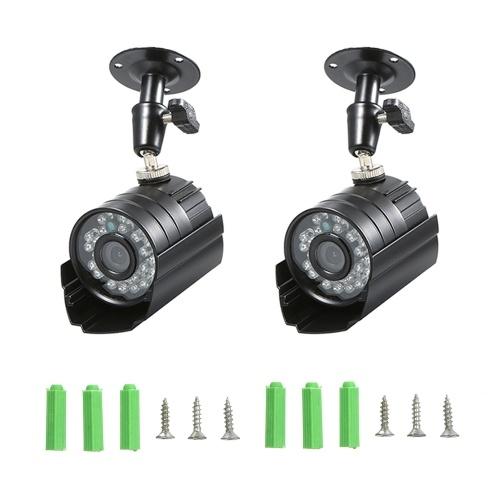 2PCS 1080P High-resolution Waterproof CCTV Camera