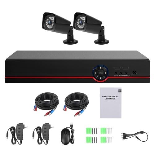 Video Security Digital Recorder + 2 Stück analoge Überwachungskameras