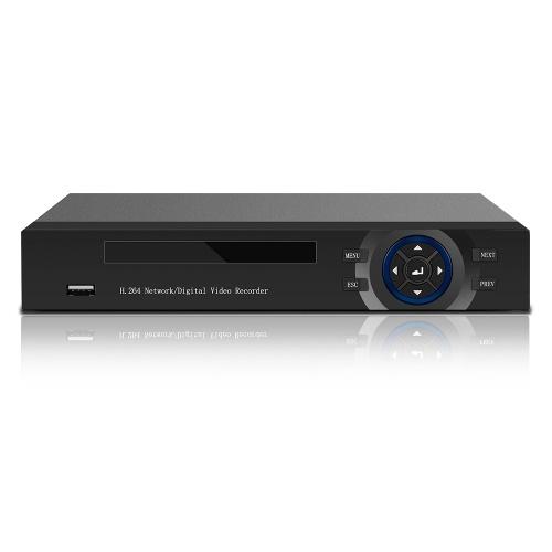 Gravador de Vídeo Digital CCTV Híbrido de Alta Definição AHD / ONVIF IP / Analógico / TVI / CVI / DVR 4CH 1080P