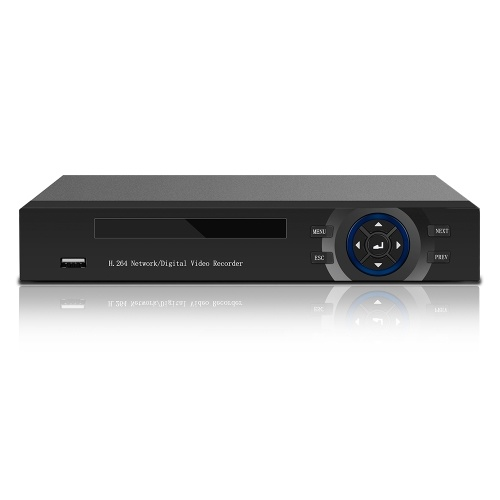 8CH 1080P IP/Analog/TVI/CVI/ DVR CCTV Digital Video Recorder