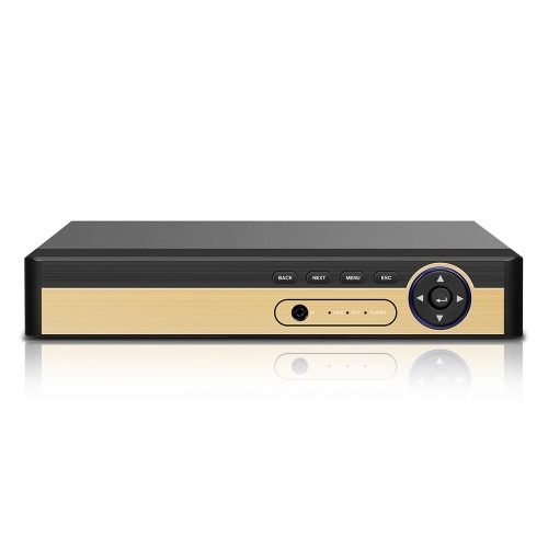 Gravador de vídeo digital CCTV híbrido de alta definição AHD / ONVIF IP / analógico / TVI / CVI / DVR 16CH 1080P