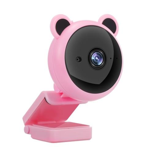 Webcam 1080P com microfone