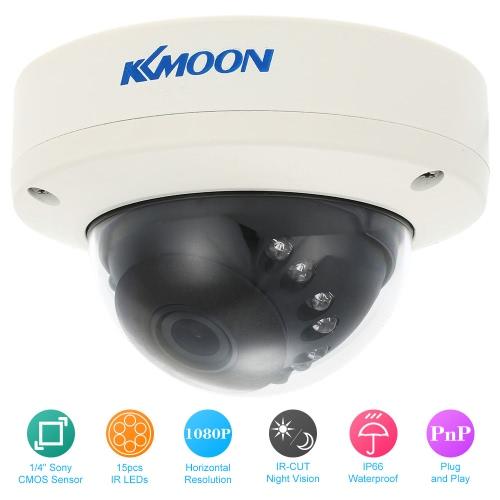 KKmoon HD 1080P Security CCTV Camera Waterproof IR-CUT Night View Home Surveillance PAL System