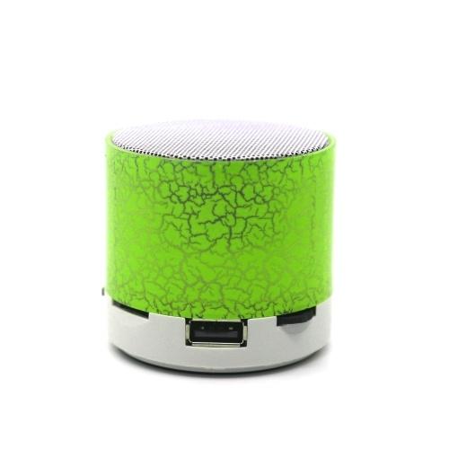 Portable Colorful Mini Bt Speakers Wireless Hands Free LED Speaker