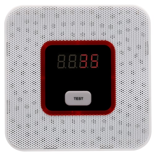 LCD Combustible Gas Leakage Alarm Sensor Tester Human Voice Warning Detector For Alarm System