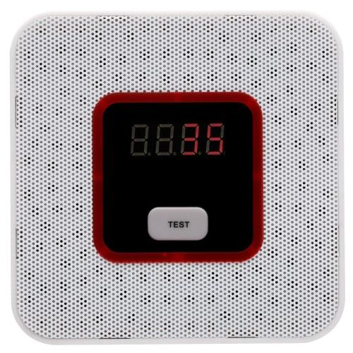 LCD brennbares Gas-Leckage-Alarm-Sensor-Prüfvorrichtung Human Voice Warnung Detektor für Warnungssystem