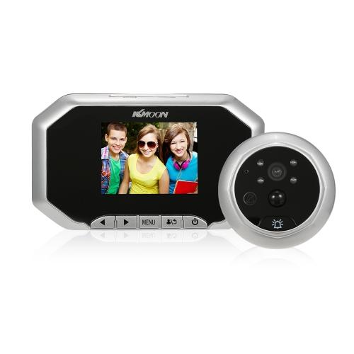 """KKmoon 3 """"LCD 720 P Digital Peephole Viewer 160 ° PIR Tür Auge Türklingel Kamera"""