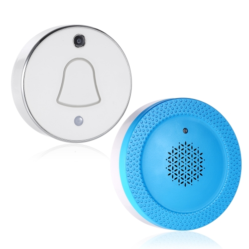 Wireless WiFi Mini Smart Doorbell Photos Automatically Cloud and Local Storage For Home Security