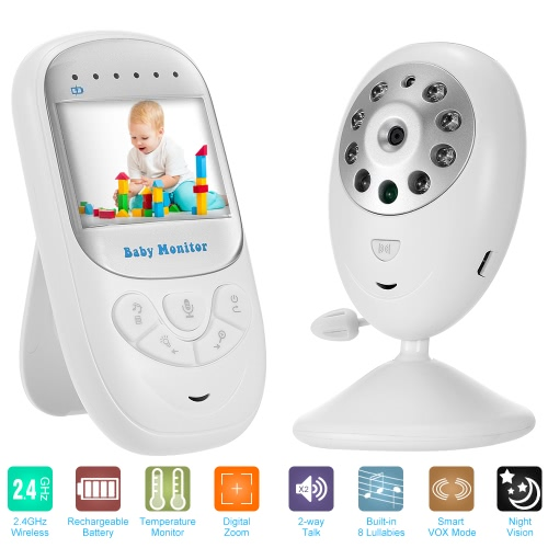 2.4'' TFT LCD Wireless Baby Monitor