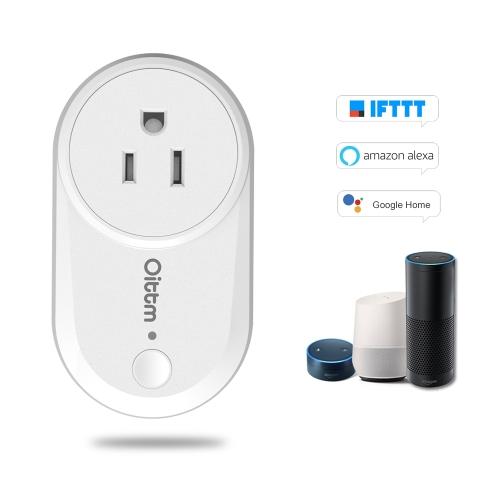 Oittm WiFiスマートプラグワイヤレスタイミングスイッチアウトレット