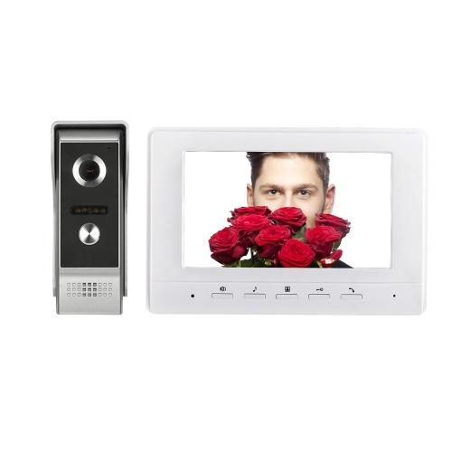 7 inch TFT Wired Color Video Doorbell Indoor Monitor
