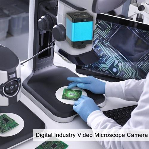 "1080P 1/2.9"" Digital Industry Video Microscope Camera HD Outputs 30F/S IR"