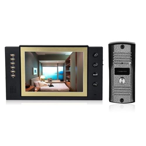 Home Security 8-Zoll-LCD-Farb-Video-Türsprechanlage
