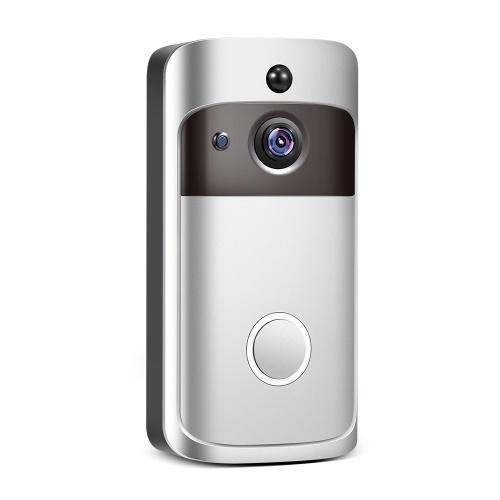 Videocamera di sicurezza HD Smart Home con campanello WiFi 1080P con audio bidirezionale