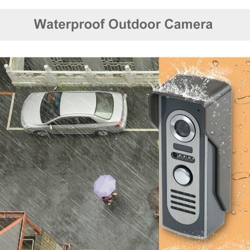OWSOO 7-дюймовый видео дверной телефон дверной звонок домофон комплект