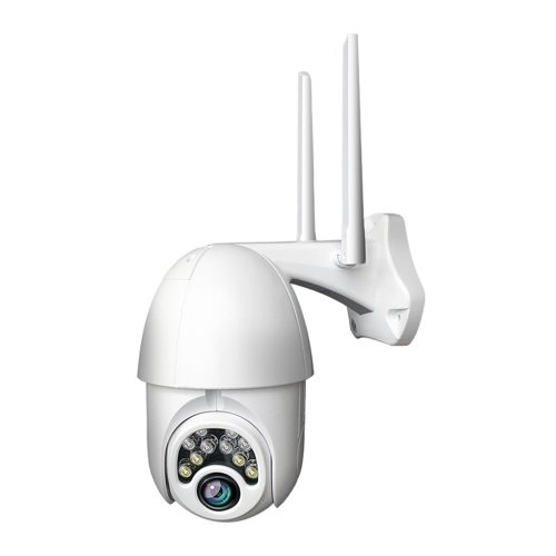 Câmera IP de 1080p Onvif Wi-Fi CCTV Câmera de vigilância externa Segurança Vigilância NetCam IP Camara Exterior Cartão TF Áudio e Visão noturna
