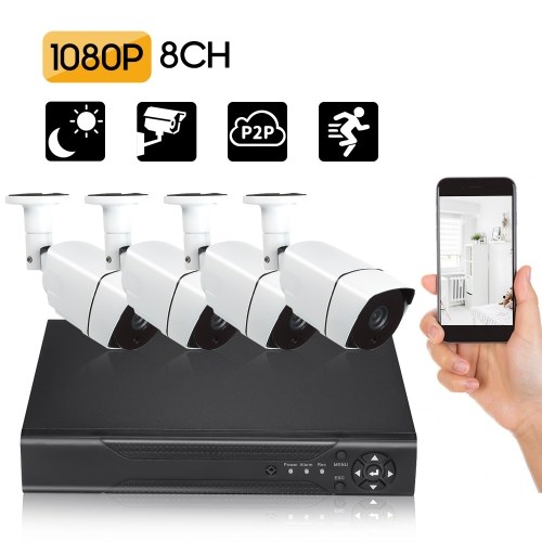 8CH Security Camera System