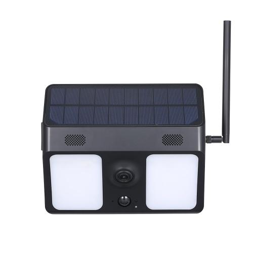IP67 Waterproof Solar Powered Bat-tery Security Camera