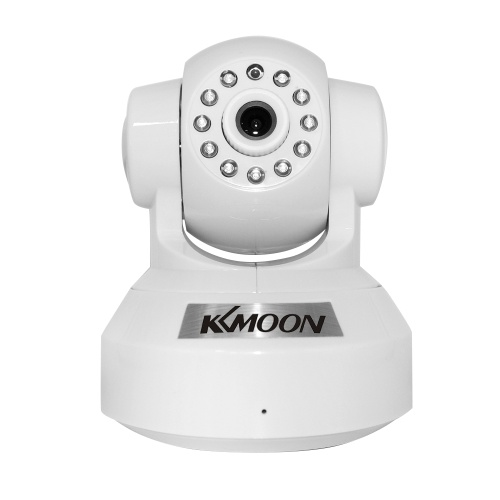 KKmoon® 0.3MP Kamera PnP P2P Plug & Play Pan Tilt IR WiFi Wireless Network IP Webcam