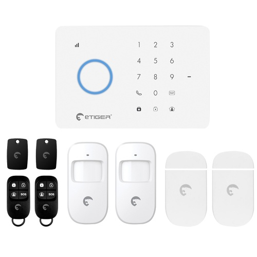 Etiger S3B 433MHz Wireless Auto-dial GSM Alarm Security System Kit