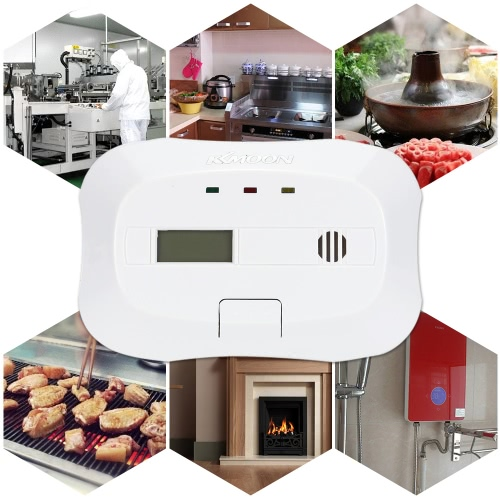KKmoon CO Kohlenmonoxid Plug-In Alarm Sensor Warnung Gasdetektor-Vergiftung
