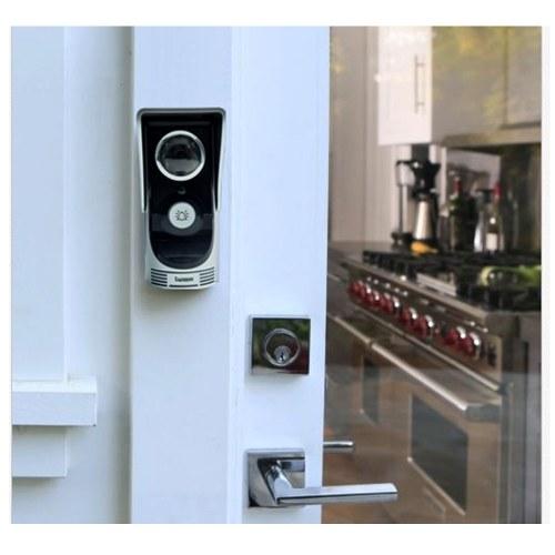 Segunda Mão WIFI Telefone Video Da Porta Sem Fio Digital Inteligente Peephole Viewer Câmera de Visão Noturna Intercom Doorbell de 2.0 Megapixels para Monitoramento de Segurança Em Casa motion detection
