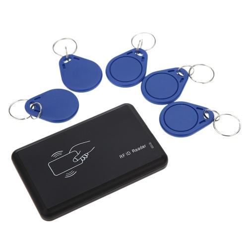 senza Contatto 14443A IC Lettore di Scheda con USB Interfacce 5Pz Schede + 5pz schede di chiave 13.56MHZ RFID
