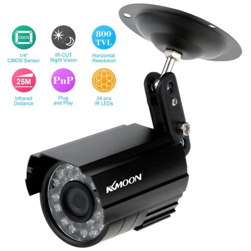 HD 800TVL 24 IR LED 防犯カメラ ホーム セキュリティ昼/夜防水カメラ