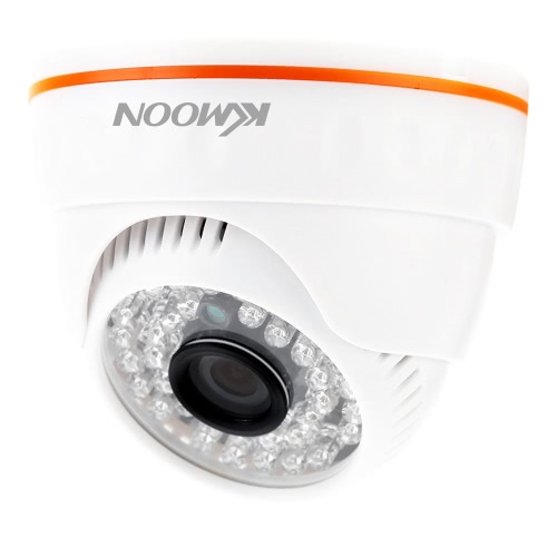 CCTV 720P IR LED Indoor ONVIF Security IP Dome Camera