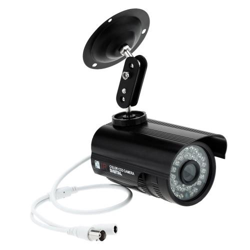 KKmoon CMOS 800TVL Outdoor / Indoor CCTV Kamera IR Nacht Wasserdichte Überwachungskamera Sicherheitskamera Kugel Kamera  für Zuhause