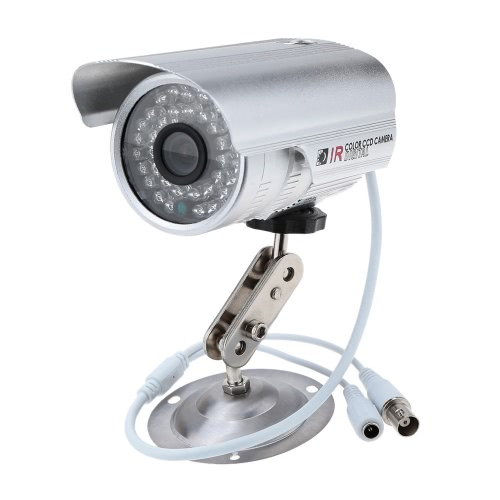 CMOS 800TVL Outdoor/Indoor Night IR Weatherproof Security Bullet Camera for Home