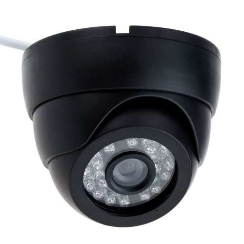 CCTV 800TVL Indoor 24 LEDS Wide Angle IR Color Security Surveillance Dome Camera